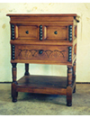 Carved Chest on Frame