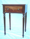 Single Drawer Mahogany Side Table